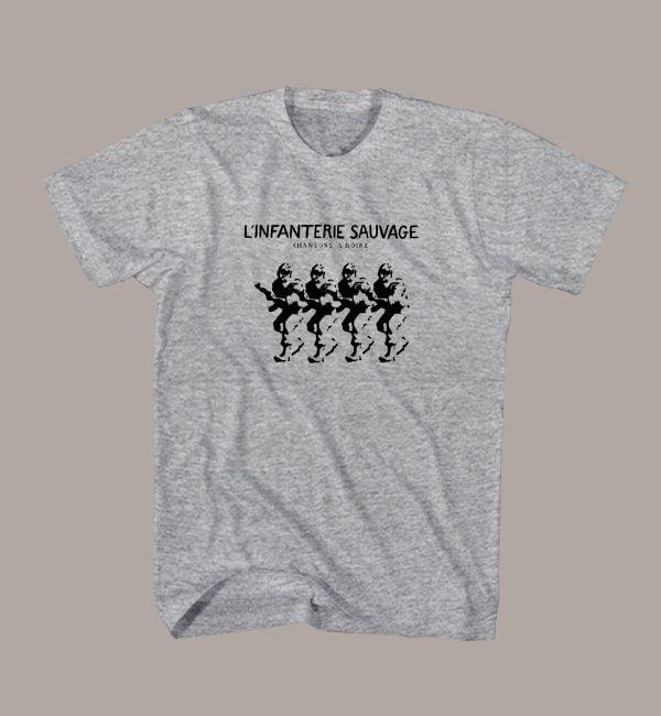 T Shirt L'INFANTERIE SAUVAGE
