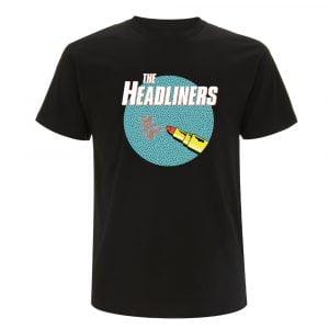 T Shirt THE HEADLINERS bleu
