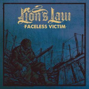 LION'S LAW – Faceless victim 7″ (PST records)