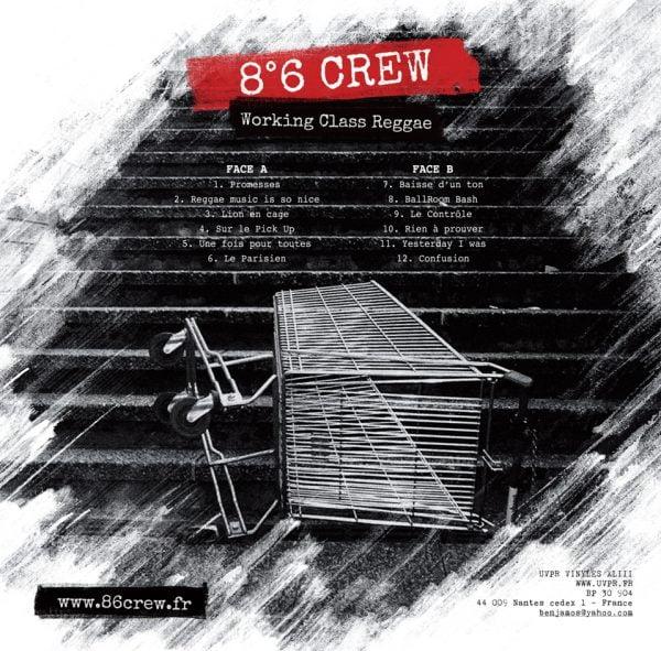8°6 CREW - Working class reggae LP