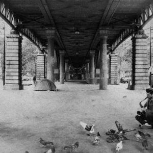 Saxophoniste de Bromure à Paris