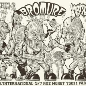 Flyer de concert Bromure